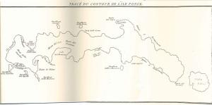 Tracé du contour de l'ile Ponce