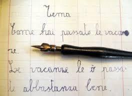 la penna con il pennino