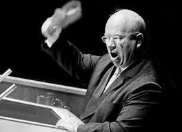 la scarpa di Krusciov sul tavolo delle Nazioni Unite