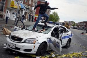 Baltimora. Violenze