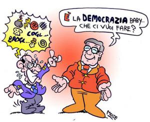 E' la democrazia Baby.3