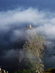 Il faro della Guardia nella nebbia - foto di Chiara Fronta