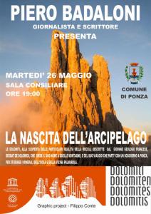 La nascita dell'arcipelago. De Dolomieu presentato a Ponza da Piero Badaloni
