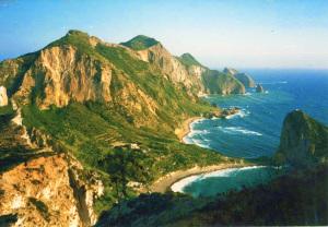 Palmarola da Monte Tramontana