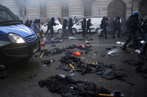 Violenze Milano Expo