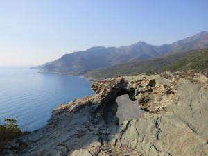 Andamento della costa occidentale dopo Nonza