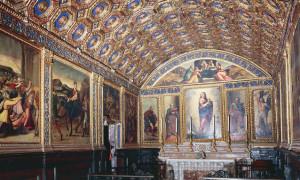 Cappella d'oro dell'Annunziata a Gaeta