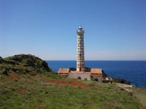 Faro di Punta Cavazzi a Ustica