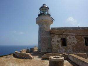Faro di capo grosso nell'isola di Levanzo Favignana