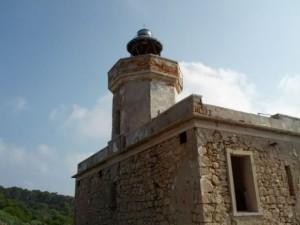 Faro di san Domino alle isole Tremiti