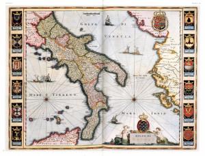Mappa Italia meridionale. Resized