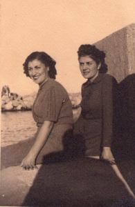 Olga e Velia. 1940. Resized