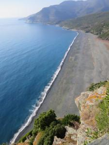 Spiaggia di Nonza