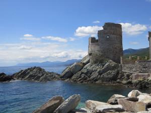 Torre di Erbalunga. Costa orientale nei pressi di Bastia