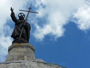 la statua del Redentore su Monte Altino