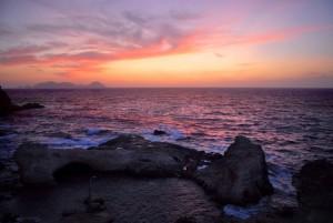 ponza al tramonto