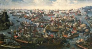 Battle_of_Lepanto_1571. Artista sconosciuto