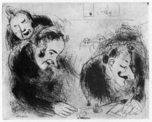 Chagall. La bustarella