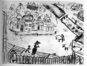 Chagall. La piccola città