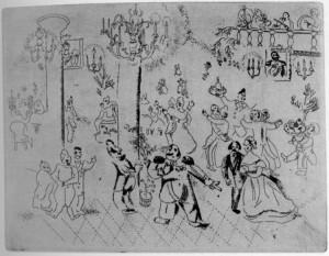 M. Chagall. La serata del Governatore