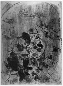 M. Chagall. Maksim Teliatnikov ciabattino