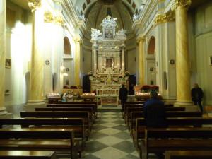 Itri. Santuario della Madonna della Civita. Interno