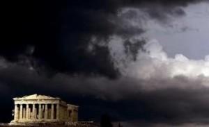 Nubi sul Partenone