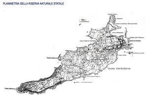 Planimetria della riserva naturale statale
