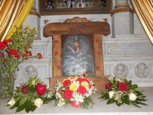 San Silverio. Tavola in Chiesa