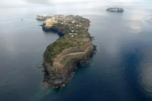 Ventotene e Santo Stefano dall'alto