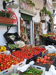 frutteria a Ponza
