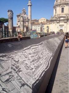 Colonna Traiana. Esposizione ai Fori