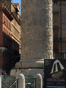Colonna Traiana. Part . della base