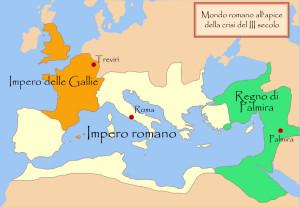 Il regno di Palmira alla sua massima estensione copia