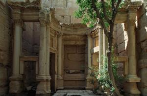 Interno del Tempio di Baal