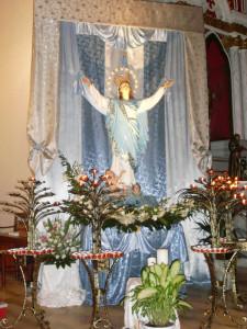 La Madonna Assunta a Le Forna. Trionfo