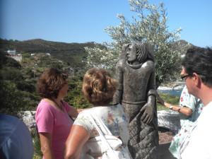La statua a Le Forna.5