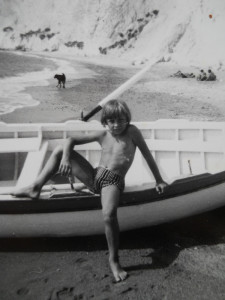PONZA Adriano a Chiaia di Luna - metà anni '60. Resized