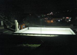 Pista di pattinaggio a Chiaia di Luna. Ponza Estate 2013
