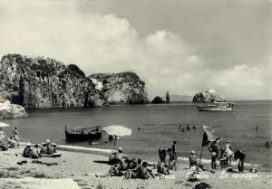 Ponza. La spiaggia di Giancos