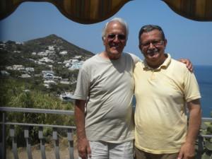 Ralph De Falco con Giuseppe Mazzella