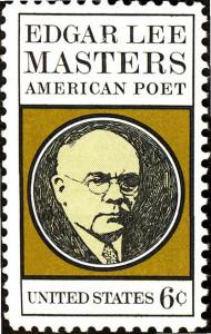 US stamp Edgar Lee Masters