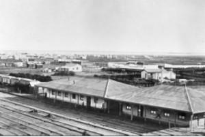 Stazione Ingeniero White. 1902.