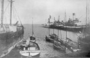 Porto Ingeniero White. 1920.