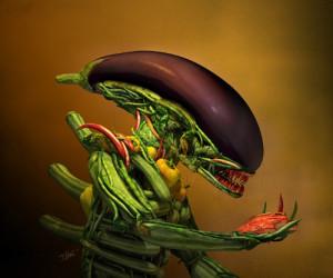 19. Alien salad. Till Nowak