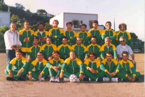 Calcio Ponza Anno 1995. III categoria