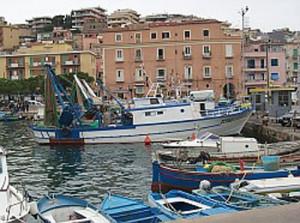 Cianciole nel porto di Gaeta (foto di Diego Caruso)