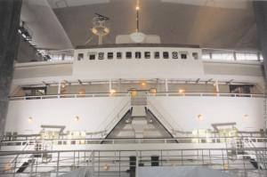 ConteBiancamano. Museo Naz. Sci. e Tecn. Il ponte di comando