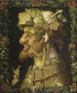 Giuseppe Arcimboldo. Autunno. 1573