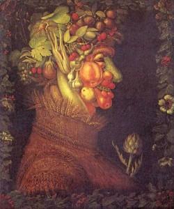 Giuseppe Arcimboldo. Estate.1573